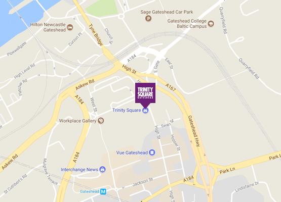 About Trinity Square Trinity Square Gateshead