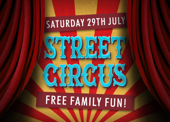 PAST EVENT – Jesterval street circus is coming to Trinity Square!