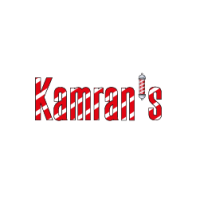 Kamran's Barber Shop Logo