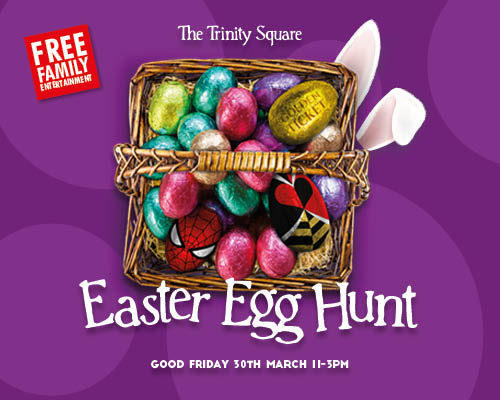 Easter fun at Trinity Square