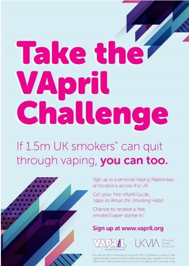 Take the April Vapril Challenge
