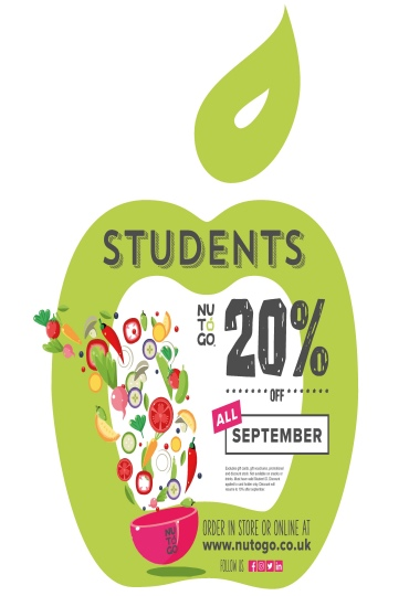 Healthy student discount