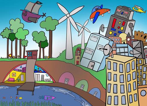 Imagine the future of Gateshead