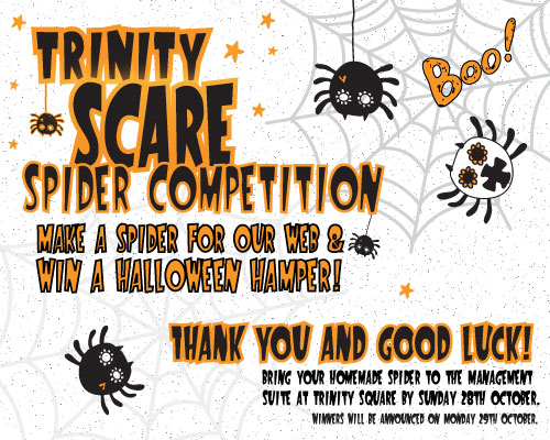 TAKE PART IN OUR SCARY SPIDER COMPETITION!