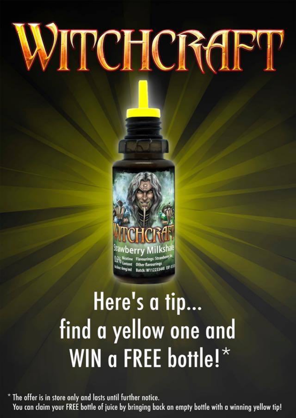 Find a yellow tip and win