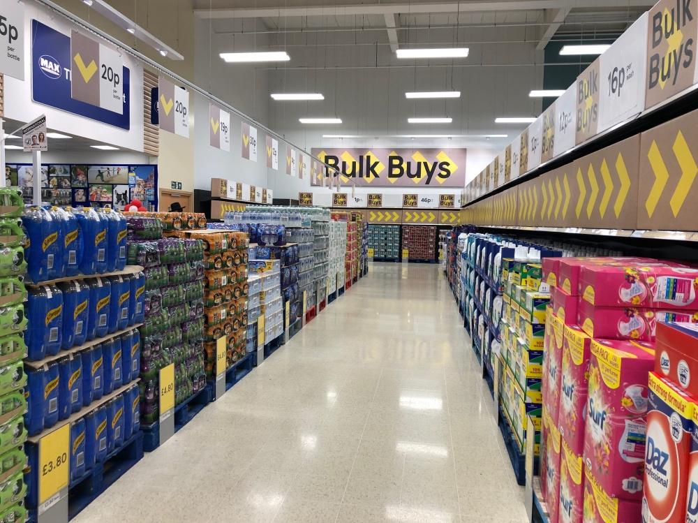 Tesco introduces bulk buys