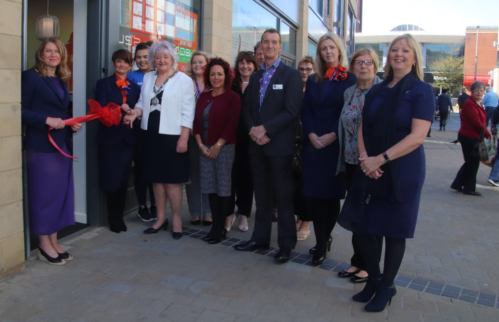 Official opening for NEW DAWSON AND SANDERSON BRANCH