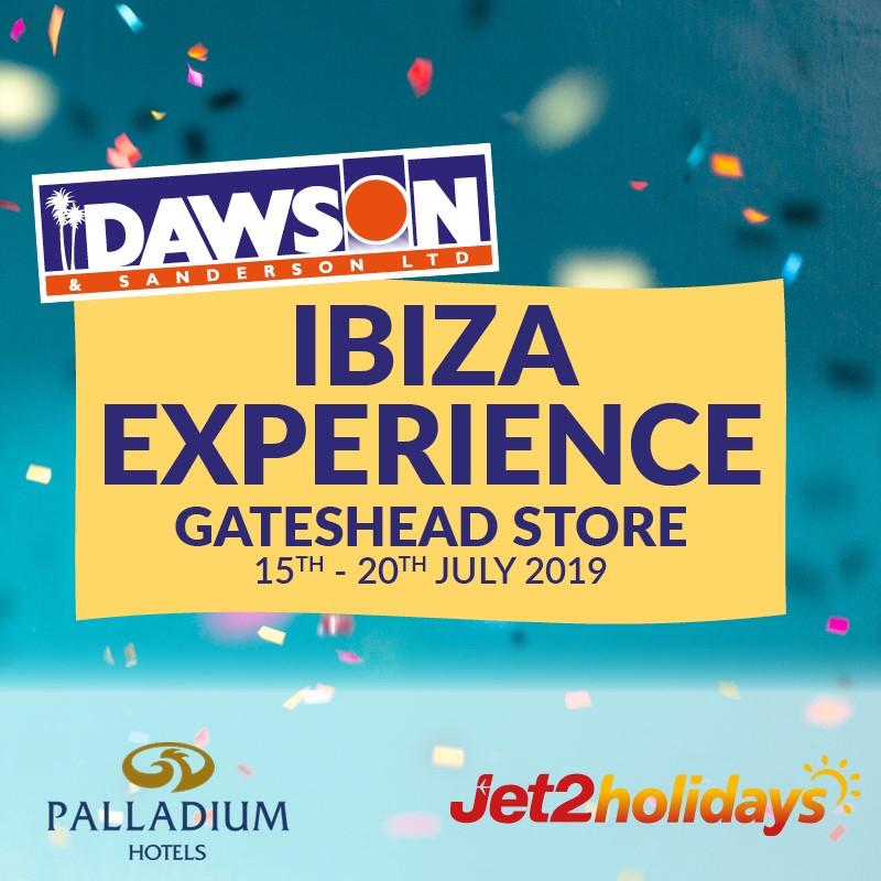 Ibiza Experience Event at Dawson and Sanderson