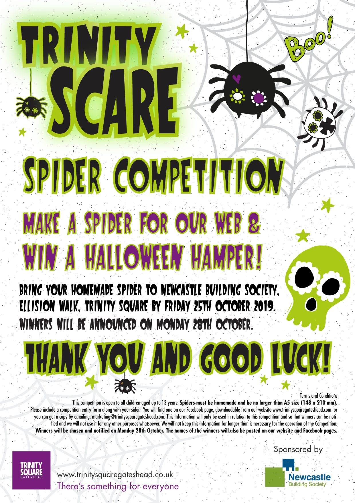 Halloween Spider Competition