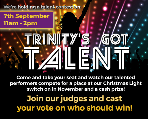 TRINITY WILL HAVE TALENT THIS SATURDAY