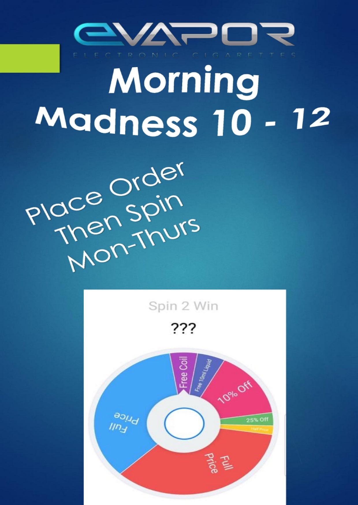 Morning Madness 10-12