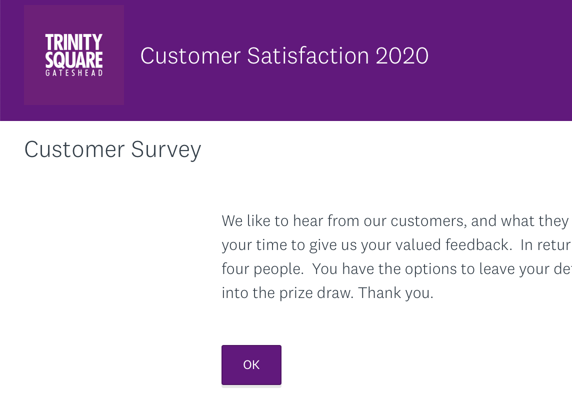 We welcome your feedback