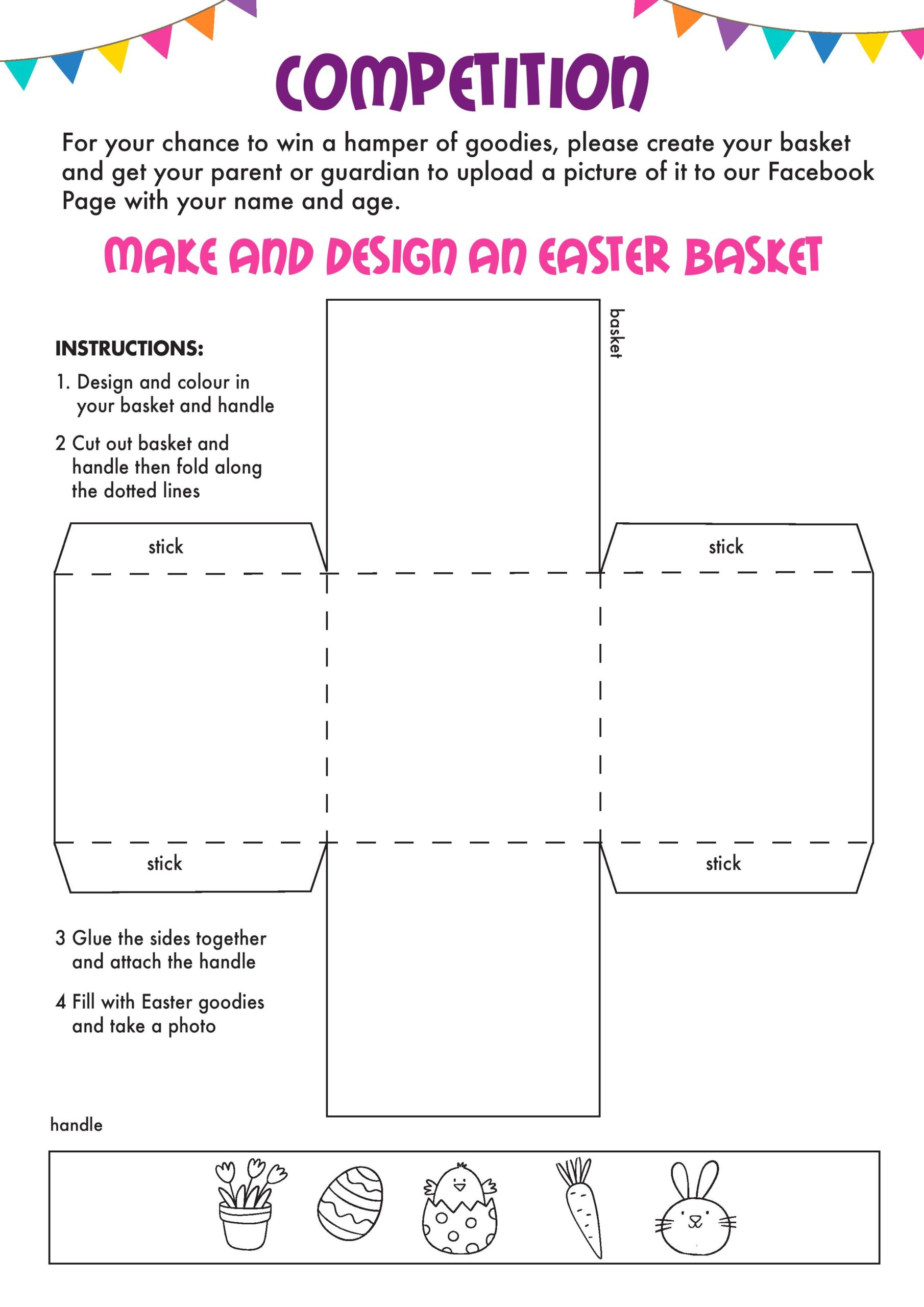 MAKE AND DESIGN AN EASTER BASKET