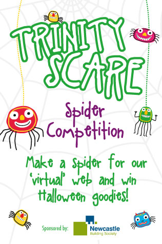Trinity Scare Spider Competition