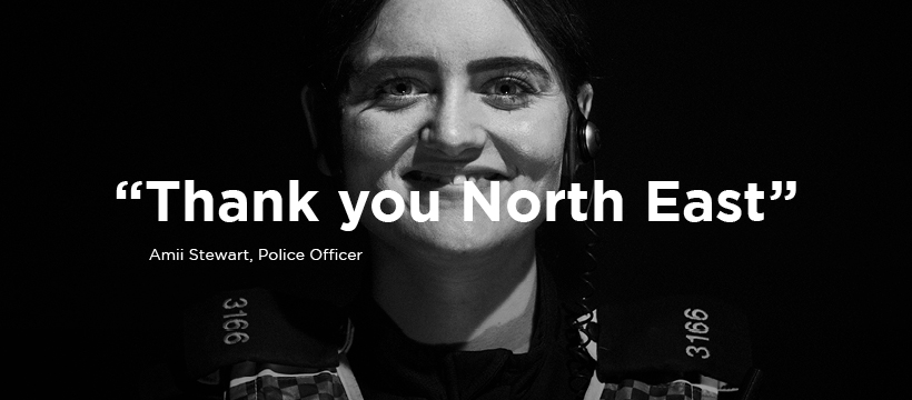Thank you North East for all that you are doing to fight Covid