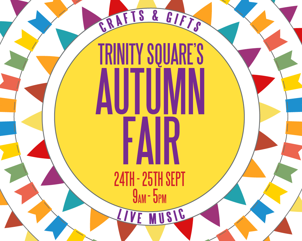 Trinity Square hosts Autumn Fair this weekend