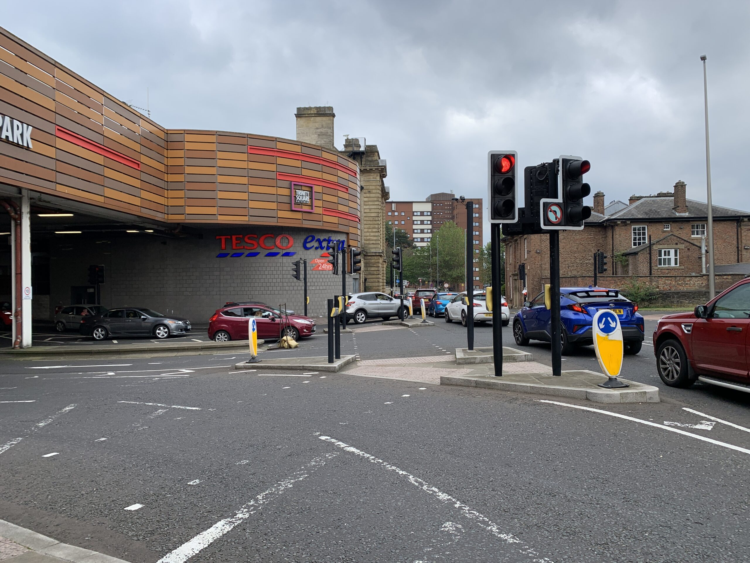 Amendments to traffic management in Gateshead town centre
